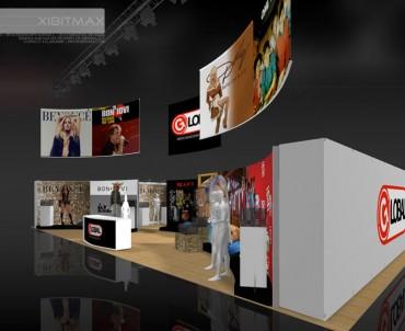 Global Merchandising 30×50 Trade Show Exhibit