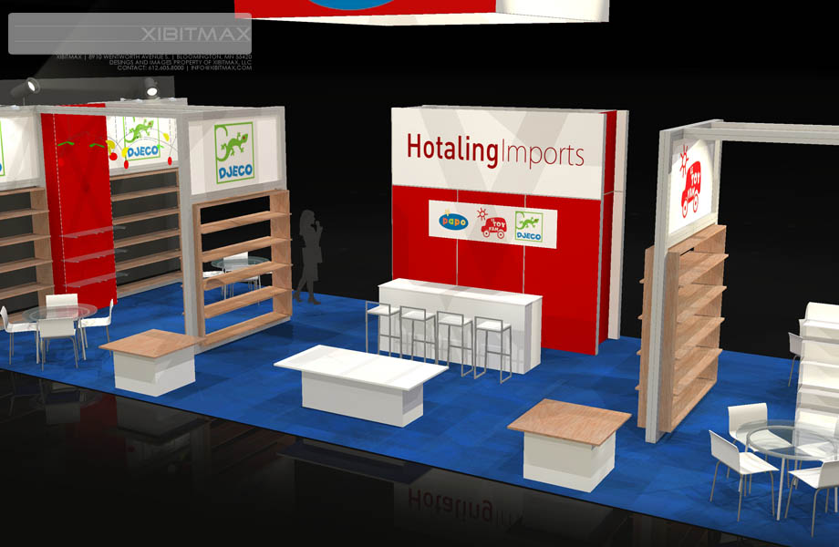 otaling Imports 20x50 Trade Show Exhibit Rental