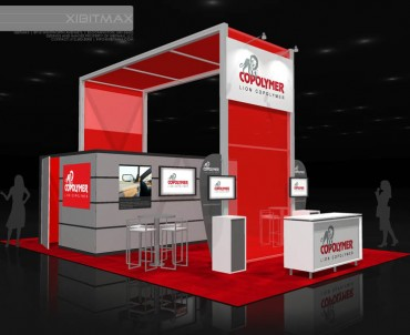 LionCo Polymer 20×30 Trade Show Booth Rental
