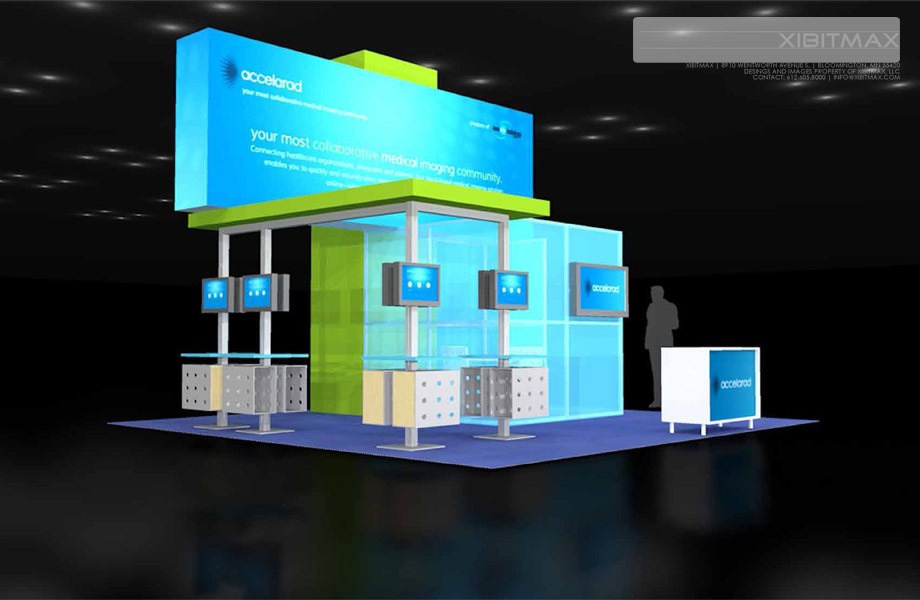 Accelarad - 20x20 Trade Show Exhibit Rental