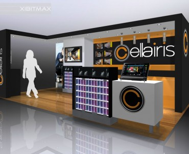 Cellairis 10×20 Custom Trade Show Booth