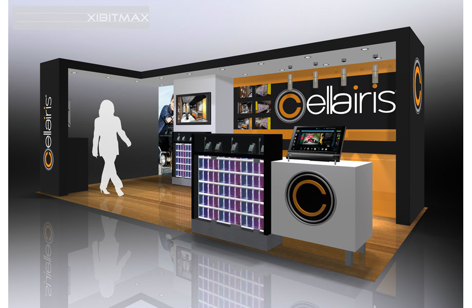 Cellairis 10x20 Custom Trade Show Booth