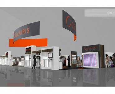 Cellairis – 40×100 Custom-Rental Hybrid Exhibit