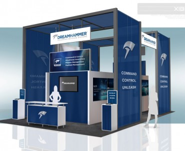 DreamHammer – 20×30 Trade Show Booth Rental