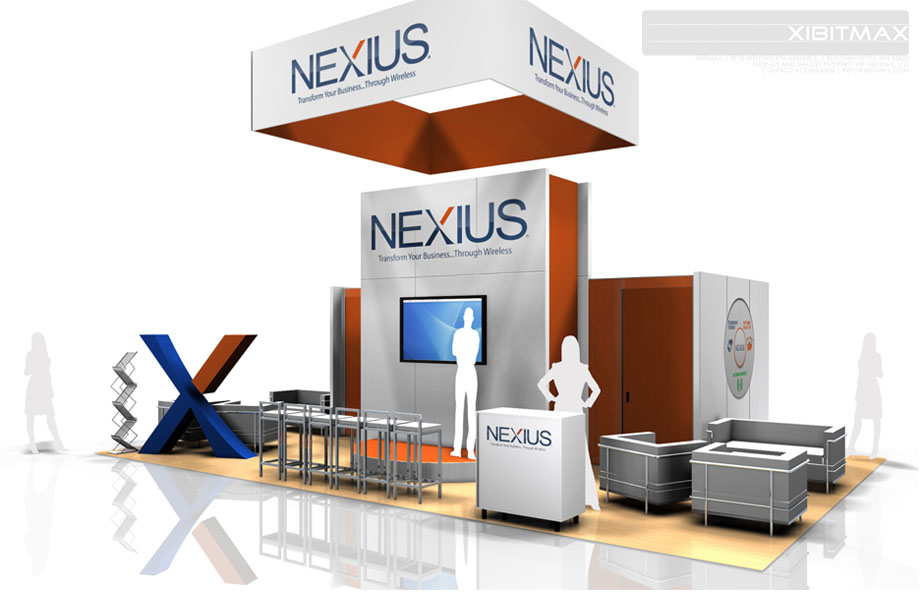 Nexius – 20×30 Trade Show Display Rental