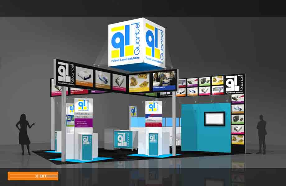 Quantel – 20×30 Trade Show Display Rental