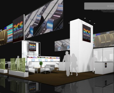 RCS – 50×50 Trade Show Display Rental