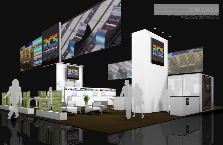 RCS – 50×50 Trade Show Display Rental