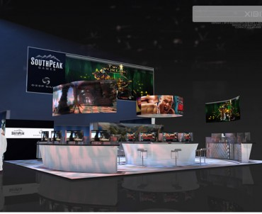 Southpeak Games – 40×50 Trade Show Display Rental