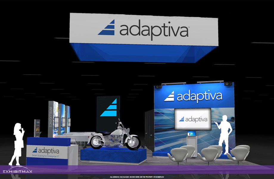 ADAPTIVA – 30×30 Trade Show Booth RENTAL