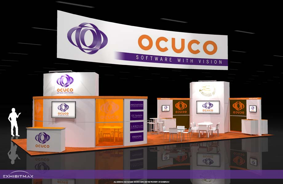 OCUCO – 20×50 Trade Show Display Rental