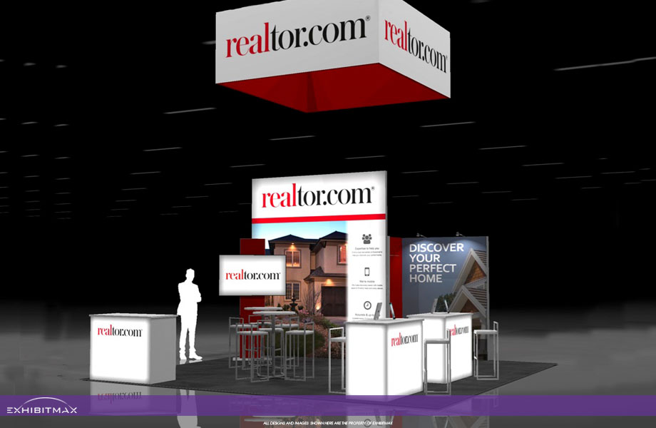 Realtor.com – 20×20 Trade Show Display Rental