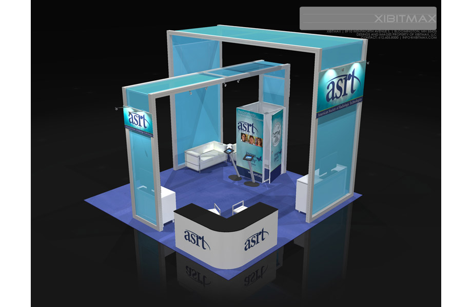 ASRT 20×20 Trade Show Booth Rental