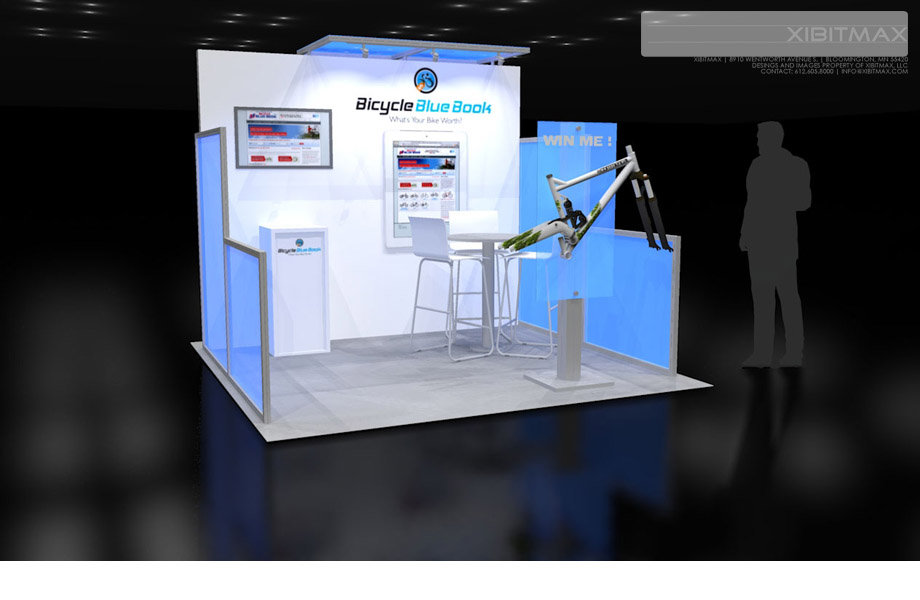 Bicycle Blue Book 10×10 Trade Show Exhibit Rental