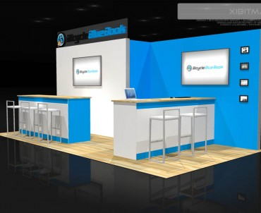 Bicycle Blue Book 10×20 Trade Show Exhibit Rental