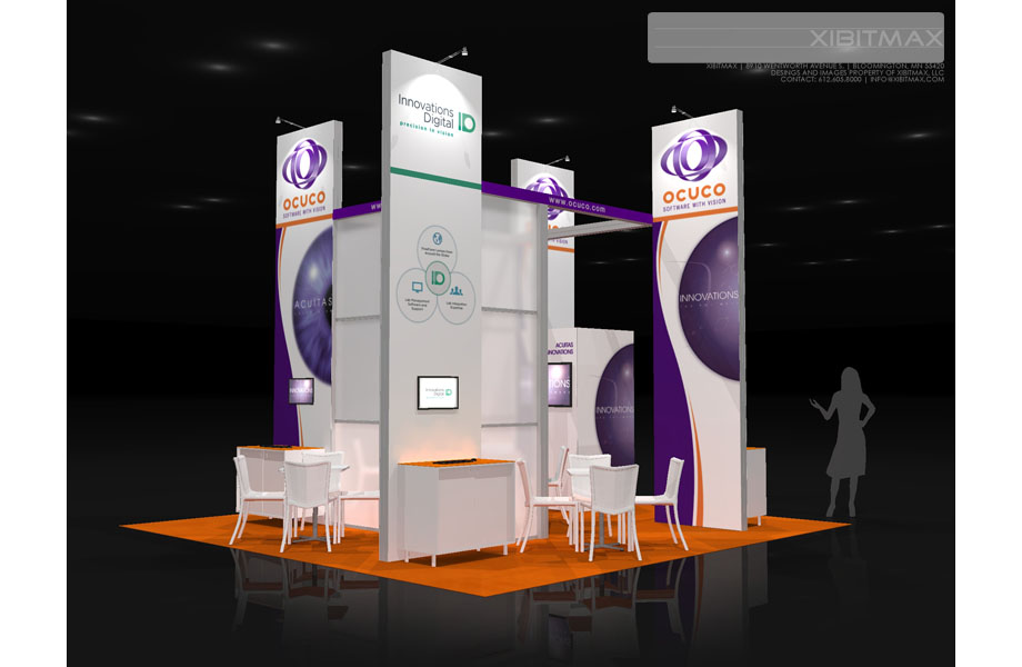 Ocuco – 20×20 Trade Show Booth Rental