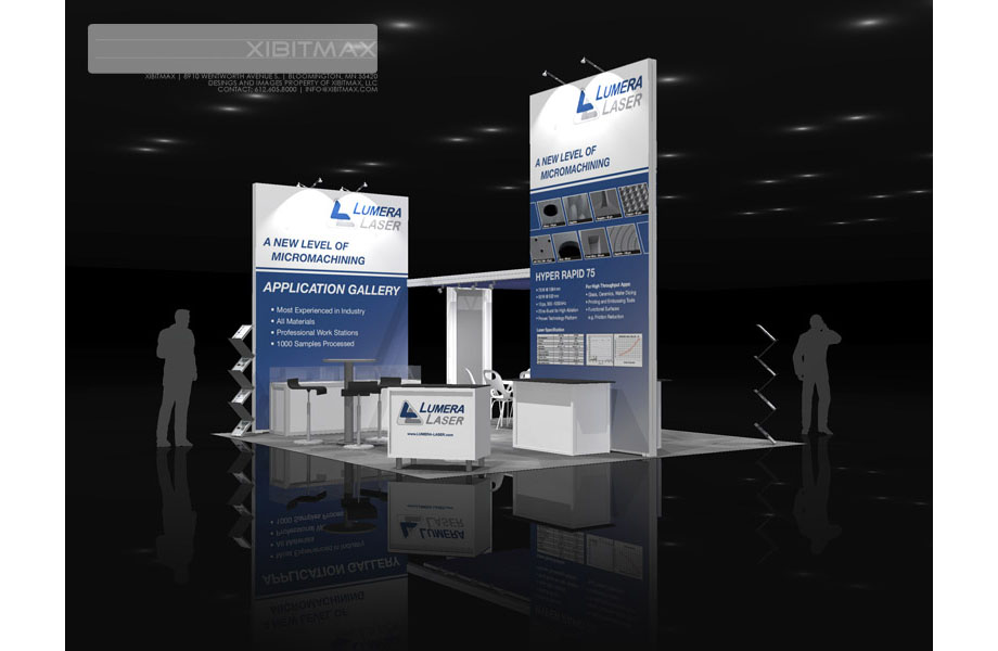 LUMERA 20×20 Trade Show Exhibit Rental