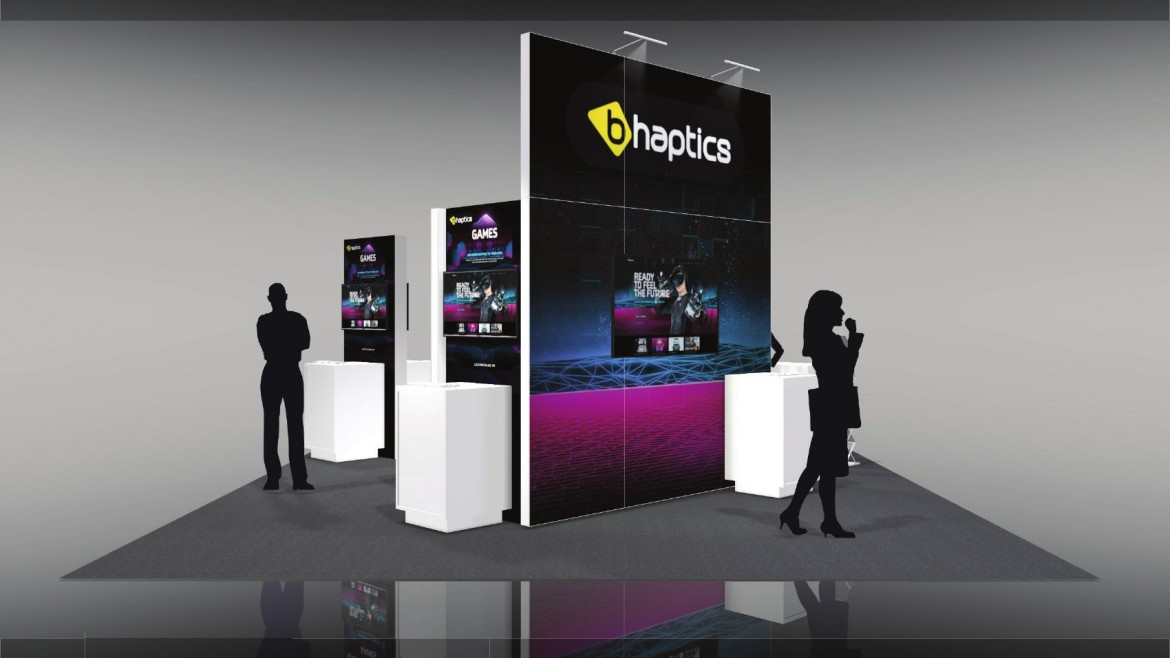 BHAP 001 – Trade Show Booth Rental Option 1